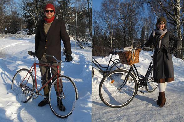 Helsinki Winter Tweed Run. Photo: Martti Tulenheimo. Луки, выложенные в блоге велоактивистов в Хельсинки. Изображение № 11.