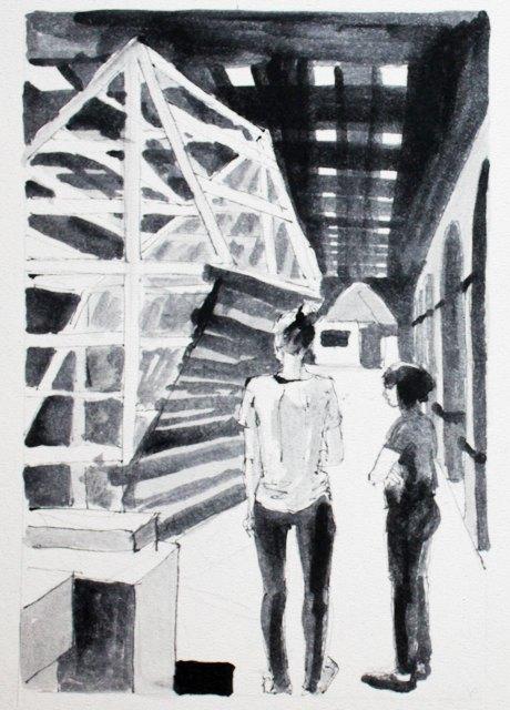 Монтаж IVМосковской международной биеннале молодого искусства. Изображение № 6.