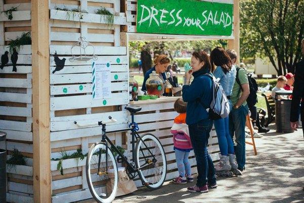 Салат-бар Dress Your Salad впарке Горького будет работать каждые выходные. Изображение № 2.