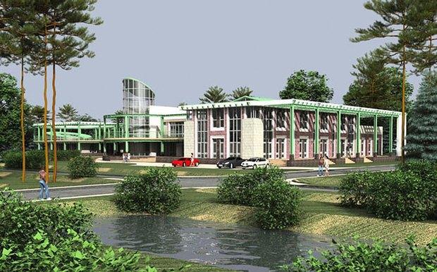 Проект коттеджного посёлка на месте Баболовского парка. Изображение № 2.