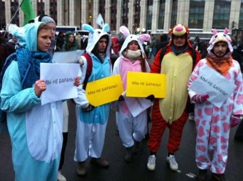 Прямая трансляция: Митинг «За честные выборы» на проспекте академика Сахарова. Изображение № 25.