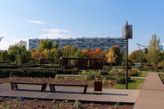 На юге Москвы после реконструкции открылся парк «Садовники». Изображение № 7.