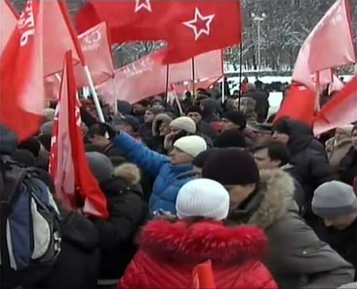 Прямая трансляция: Митинг «За честные выборы» на проспекте академика Сахарова. Изображение № 76.