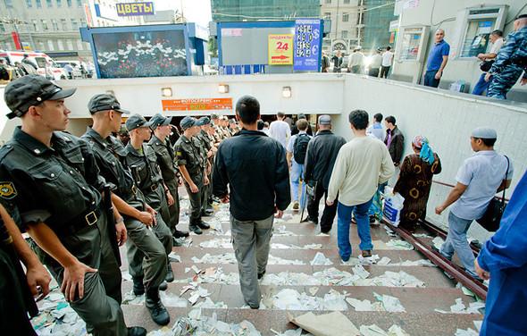 Copwatch: Действия полиции на празднике Ураза-Байрам в Москве. Изображение № 24.