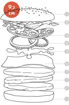 Между булок: что внутри у самых больших московских бургеров, часть 1. Изображение № 26.