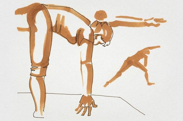 Клуб рисовальщиков: Йога. Изображение № 4.