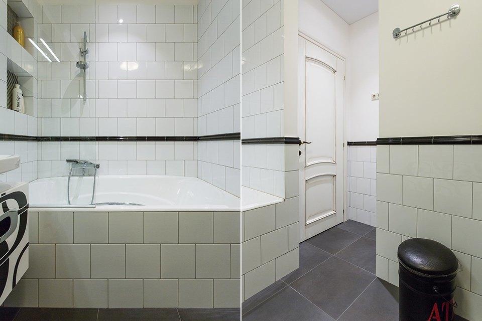 Большая квартира для семьи на«Нагатинской» с кабинетом илимонной ванной. Изображение № 18.