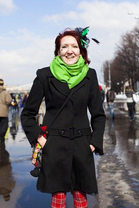 Люди в городе: Участники парада вчесть Днясвятого Патрика. Изображение № 25.