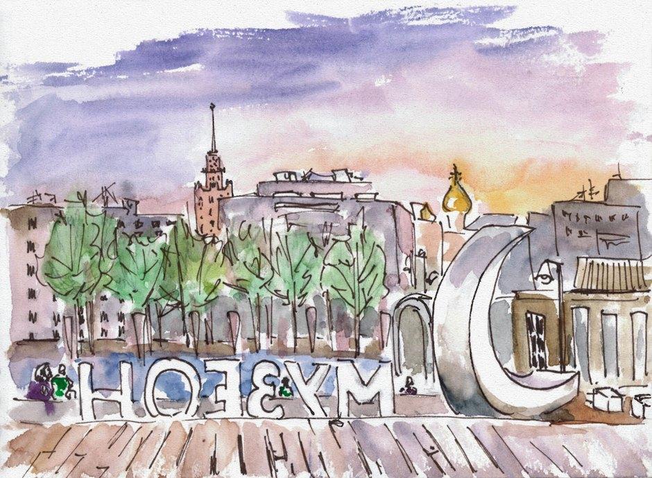 Крымская набережная. Изображение № 9.