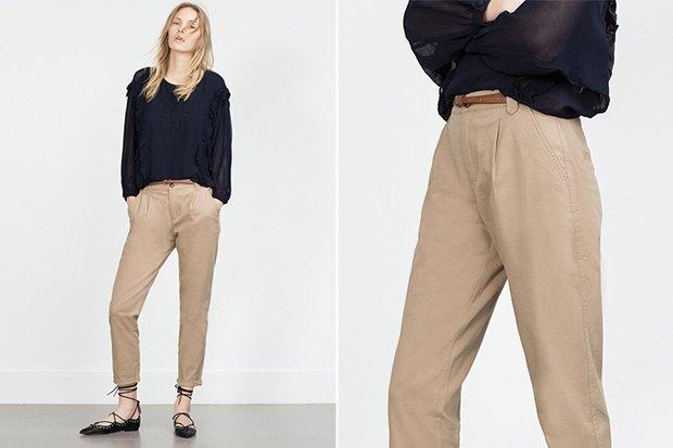 Семь пар светлых женских брюк . Изображение № 8.