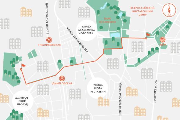 Определены маршруты скоростного трамвая в Москве. Изображение № 6.