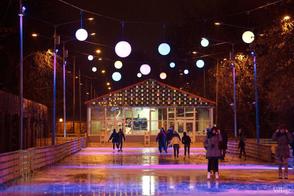 Люди в городе: Первые посетители катка в парке Горького. Изображение № 25.
