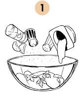 Рецепты шефов: Салат «Курица-тандури». Изображение № 5.
