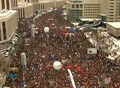 Прямая трансляция: Митинг «За честные выборы» на проспекте академика Сахарова. Изображение № 66.