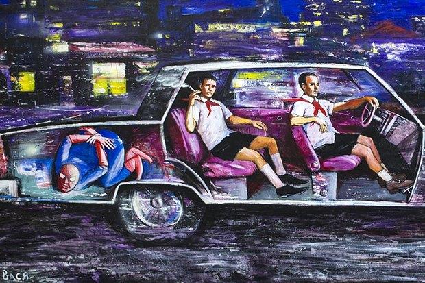 Уличный художник Павел Шугуров: «Быть чиновником — это прикольно». Изображение № 19.