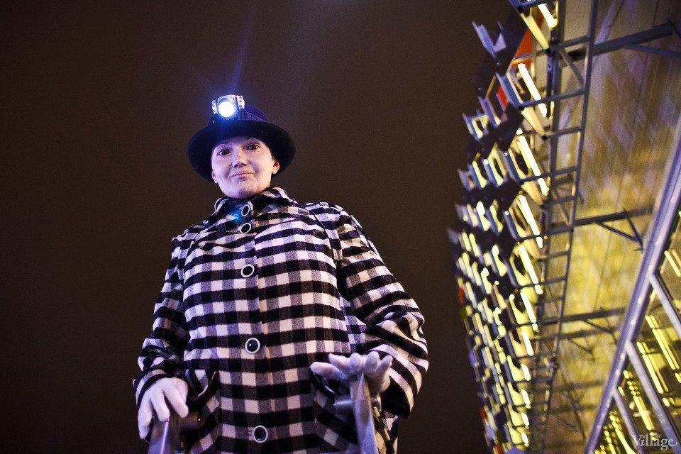 Люди в городе: Первые посетители катка в парке Горького. Изображение № 3.