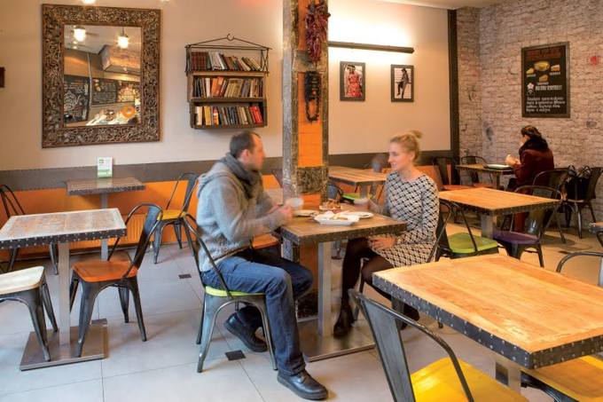 Фото предоставлены кафе «Бистро-бистро». Изображение № 2.