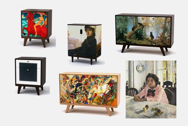 Depst с Третьяковской галереей выпустят коллекцию мебели . Изображение № 1.