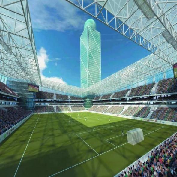Изображение 4. Стадион ЦСКА достроят к концу 2012 года.. Изображение № 4.