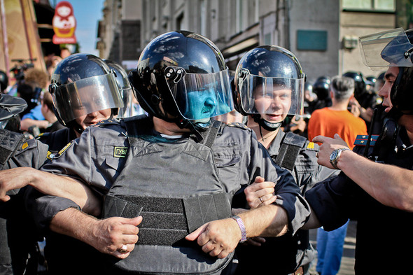 Изображение 6. Copwatch: действия полиции на митинге «Стратегии-31» на Триумфальной площади.. Изображение № 5.