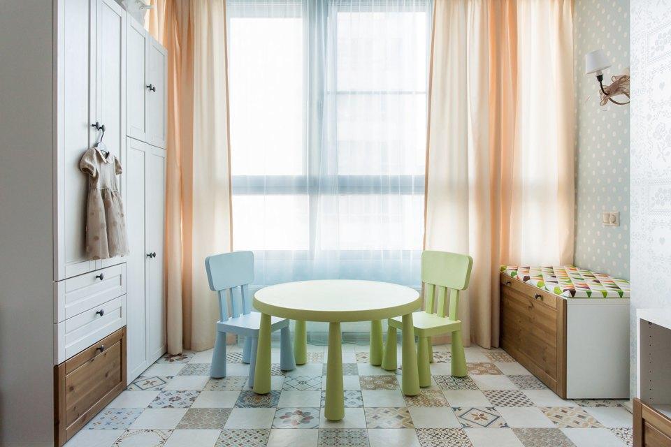 Большая квартира для семьи на«Нагатинской» с кабинетом илимонной ванной. Изображение № 15.