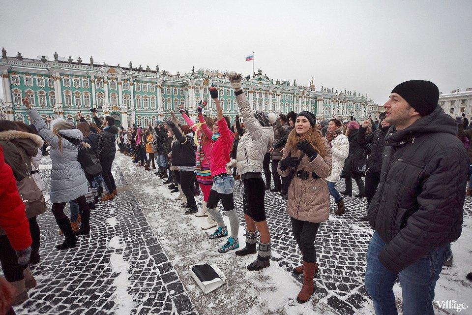 Фоторепортаж: Gangnam Style и зарядка на Дворцовой площади. Изображение № 18.