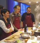 Время есть: Репортаж с мастер-класса Айзека Корреа на редакционной кухне журнала «ХлебСоль». Изображение № 4.