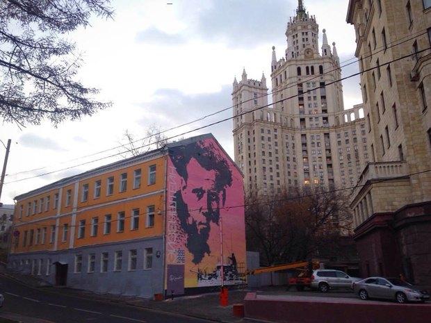 Портрет Эйзенштейна вБольшом Ватином переулке. Изображение № 1.