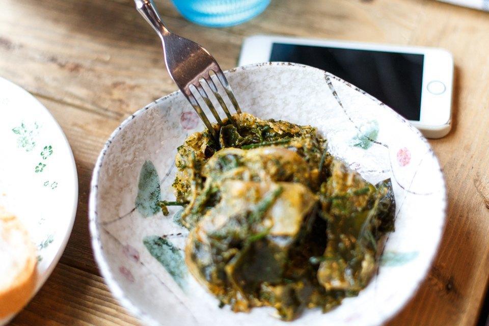 «Кимчи здесь совершенно необычная, точно нужно пробовать»,— Илья Осколков-Ценципер о кимчи в Glenuill. Изображение № 14.