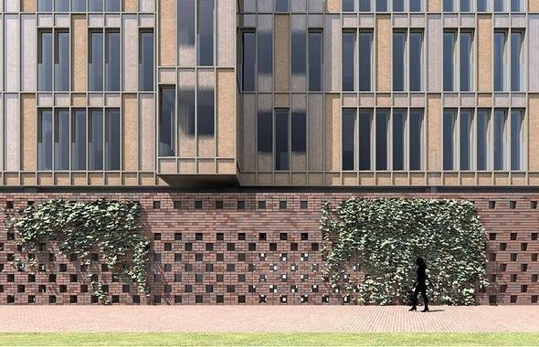 Изображение 1. На Павелецкой набережной построят молодежный жилой комплекс.. Изображение № 2.