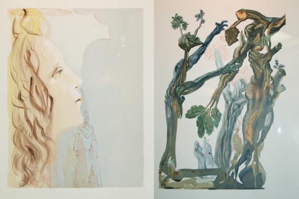 Иллюстрации Пикассо, Дали и Миро в Пушкинском музее. Изображение № 6.