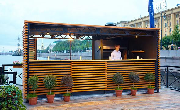 Летняя кухня и бар ресторана «Волга-Волга».. Изображение № 69.