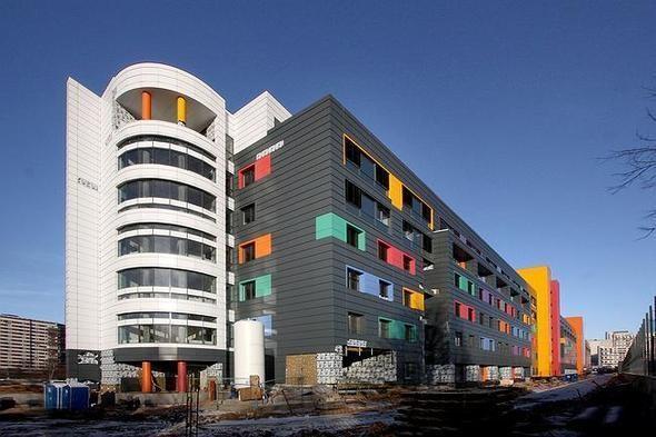 Изображение 2. На юго-западе Москвы открылась разноцветная детская больница.. Изображение № 6.