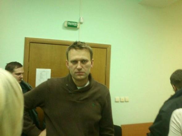 Алексей Навальный перед приговором. Изображение № 1.