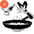 Рецепты шефов: Грудки голубя с орехами кешью и полентой. Изображение № 7.