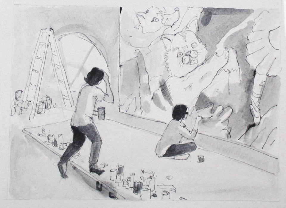 Монтаж IVМосковской международной биеннале молодого искусства. Изображение № 17.