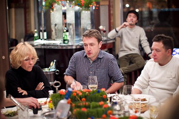 Разговоры на спортивном ужине. Изображение № 35.