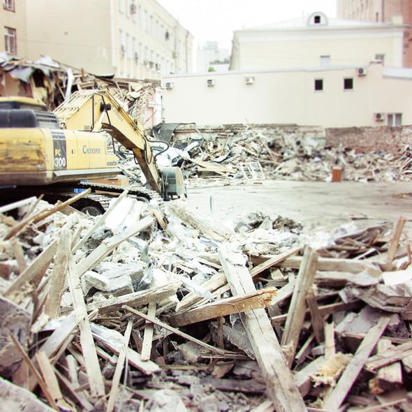 В зоне риска: Флигель фабрики в Милютинском переулке. Изображение № 5.