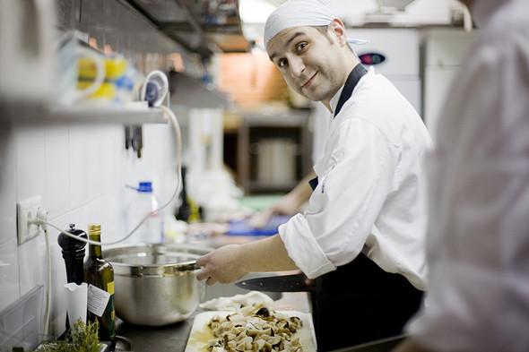 Изображение 7. Фоторепортаж с кухни: Ресторан «Бонтемпи».. Изображение № 18.