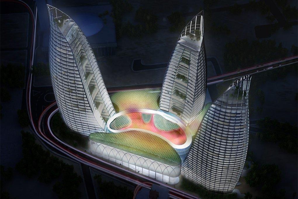 Hopes Tech: 15 самых эффектных небоскрёбов мира. Изображение № 31.