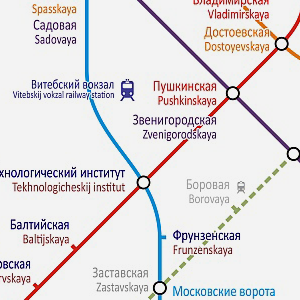 Карты на стол: 11 альтернативных схем петербургского метро. Изображение № 12.