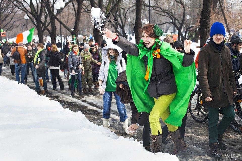 Люди в городе: Участники парада вчесть Днясвятого Патрика. Изображение № 9.