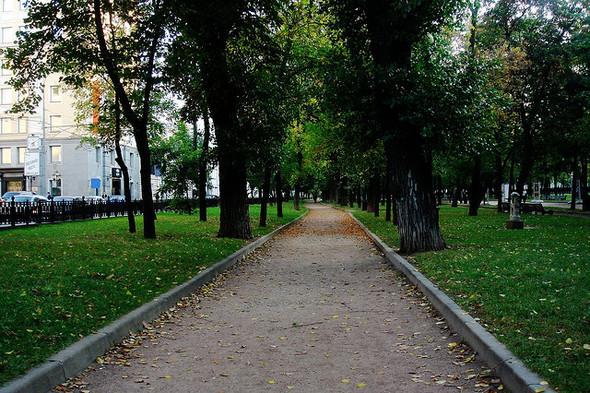 В Москве началась реконструкция Бульварного кольца. Изображение № 1.