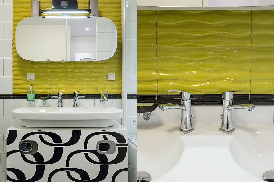 Большая квартира для семьи на«Нагатинской» с кабинетом илимонной ванной. Изображение № 17.