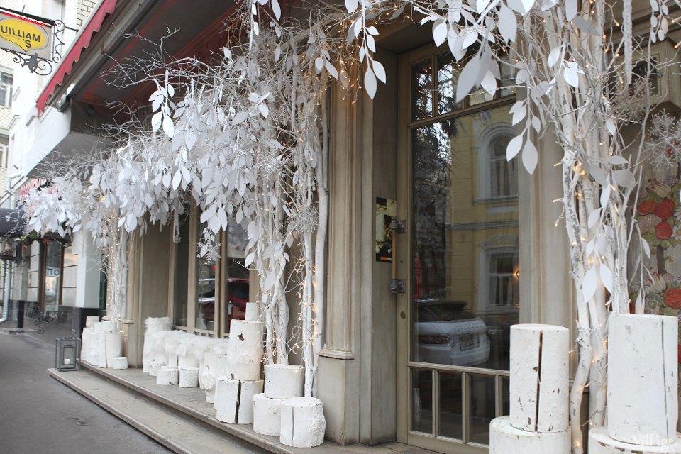 Фоторепортаж: Новогодние интерьеры ресторанов и кафе . Изображение № 3.