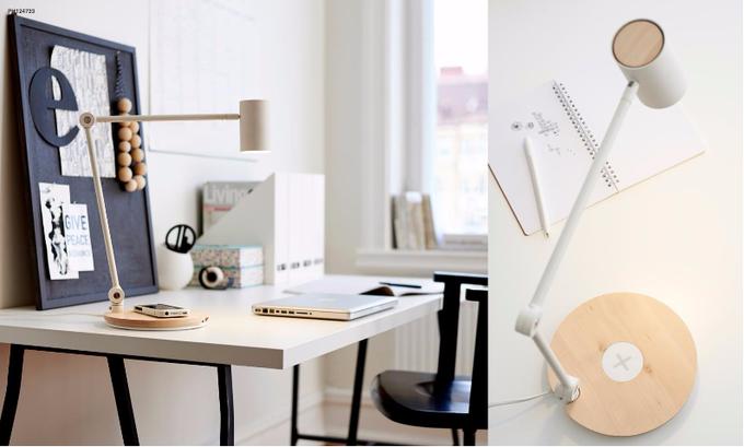 IKEA выпустила коллекцию мебели сбеспроводной зарядкой гаджетов. Изображение № 1.