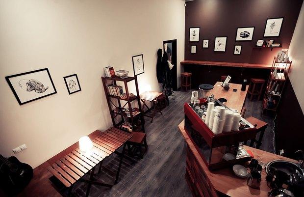 Кофейня Impress переехала вКовенский переулок. Изображение № 6.