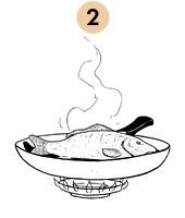 Рецепты шефов: Запечённый с травами карп с соусом из оливок и томатов. Изображение № 5.