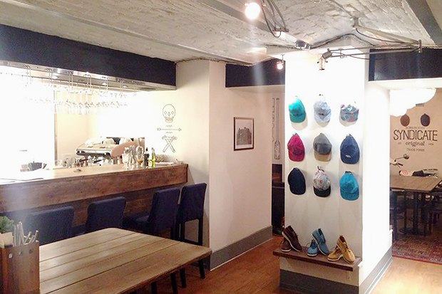 На Жуковского открылся кафе-бар Syndicate. Изображение № 2.