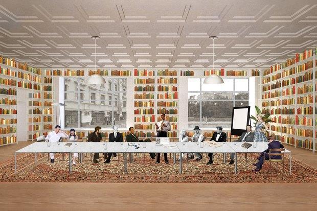 На Чистопрудном открылась обновлённая библиотека имени Достоевского. Изображение № 2.
